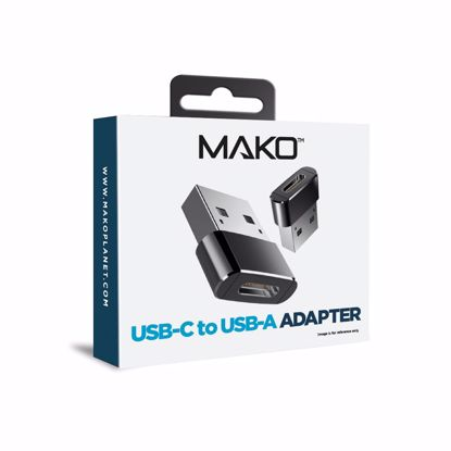 Picture of Mako Mako USB-C to USB-A 2.0 Cable Adapter